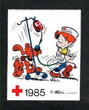 Belgique - Croix-Rouge - Boule et Bill - 1 Autocollant 1985.