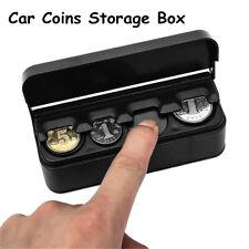 Interior Accessories Coins Case Container Car Coins Storage Box Holder