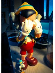 KAWS Pinocchio Movable figure Standing Character Goods Jiminy Disney Used