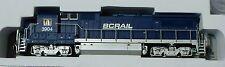 Atlas N #40000498 GE Dash 8-40B w/DCC - Master(R) -- BC Rail #3904 (blue, white,