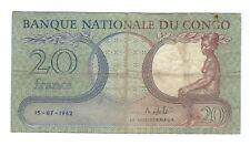 Congo - 20 Francs, 1962