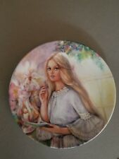 "Wedgwood Plate ""The Love Letter"" By Mary Vickers 1St Edition"