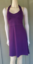 BANANA REPUBLIC Purple Halter Neck Dress 0