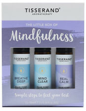 Tisserand LITTLE BOX OF MINDFULNESS Aromatherapy Rollerball Trio Gift Set