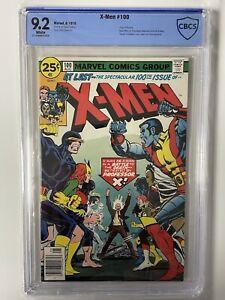 FNL X-Men #100 CBCS 9.2 White Pages CGC $.99