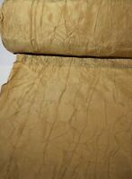 "Faux Silk Fabric Kravet Luxury Drapery Upholstery Crinkle Taffeta 54"" Crushed"