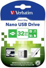 Verbatim Nano USB Drive 32 GB Go