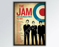 More details for the jam reimagined 1977 uk  tour poster a3 size.