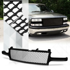 Black ABS Classic Mesh Grille/Grill for 99-02 Silverado/00-06 Tahoe/Suburban