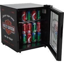 Harley-Davidson Nostalgic 1.8 Cubic Ft. Beverage Cooler Refrigerator Black New