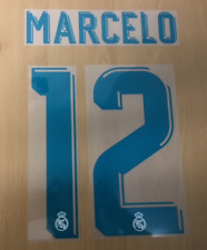 Sporting id Official Adidas Real Madrid Home Nameset Print MARCELO 12 2017/18