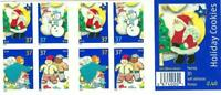 Scott 3956b - 37 Cent Holiday Cookies Dbl Sided Conv pane of 20  CV $43.50