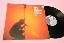 U2 LP UNDER A BLOOD RED SKY GERMANY 1983 EX
