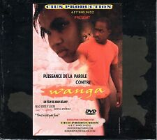 """wANgA"" DVD Haitian DvD Creole Movie Film Voodoo Revenge Drama Racine Roots"