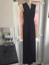 Gorgeous Phase eight Black evening catsuit size 14.party cruise cocktail etc