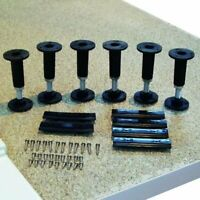 Shower Tray and Enclosure Riser Kit Lift Up Legs Feet Clips & Screws Pack of 6