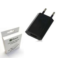 iGuard Poweradapter 5W Schwarz Stromadapter iPhone Galaxy Netzteil Netzstecker