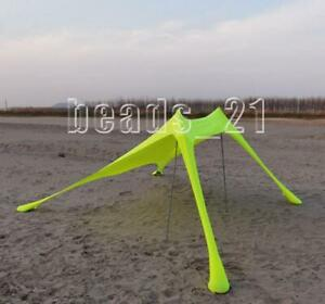 Outsunny Beach Tent Camping Picnic Hiking Instant Multifunctional Outdoor Lycra