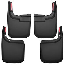 Husky CUSTOM Mud Guards - Front & Rear Set - 58466 - Ford F250/F350 2017-2018