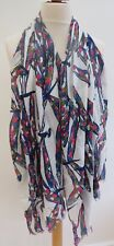 NEW! White stuff Dancing Dragonfly Scarf RRP£25 - Slight second