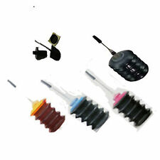 120ml Black + Color Ink Refill Kit for HP 63 63XL F6U64AN 3830/4650 ENVY 4520