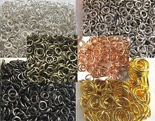 Offene Biegeringe Ösen Ringe +Schraub-Box 3,5 4 5 6 7 8 10 mm * 10g 20g 30g 100g