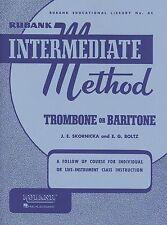 Rubank Intermediate Method – Trombone or Baritone, Intermediate Level, 48 Pages