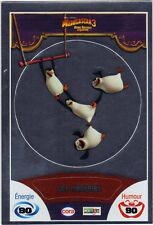 Vignette de collection autocollante CORA Madagascar 3 n° 85/90 - Les pingouins