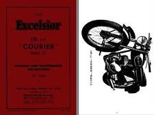 Excelsior Courier Model C3 1955 - The Excelsior 150cc Courier Model C3 Manual