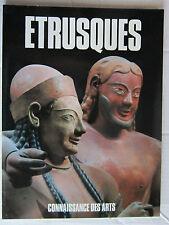 CONNAISSANCE DES ARTS hors série  / ETRUSQUES