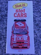 Slot.it 2020 + Policar Katalog 2020 Slot Cars  52 Seiten Neu
