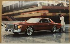 1978 CHRYSLER CORDOBA DEALERSHIP 78 NOS MOPAR DEALER POSTCARD