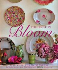 JUDY SPOURS~ THE HOUSE IN BLOOM~ HB/DJ~NEW & FAC SEALED~DECORATING BOOK