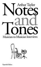 Notes and Tones: Musician-To-Musician Interviews (Paperback or Softback)