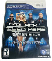 Black Eyed Peas Experience Nintendo Wii Game Complete CIB Tested Manual