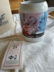 Vintage 1997 Avon Gift Collection Michael Jordan Commemorative Tankard