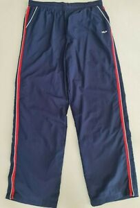 Fila Mens Essential Track Trackie Pants size XL Colour Navy