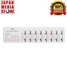 KORG USB MIDI NANO KONTROL2 nanoKONTROL2 Controller White 100% Genuine Product