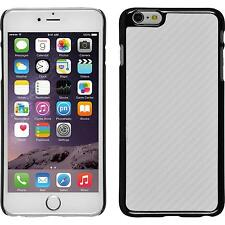 Hardcase Apple iPhone 6 Plus / 6s Plus Carbonoptik white