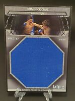 2011 Topps UFC Title Shot Fight Mat Relics Box Topper Dominick Cruz - WEC 47