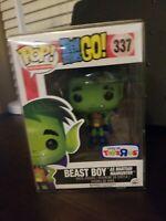 Funko POP Teen Titans Go! Beast Boy As Martian Manhunter #337 TRU exclusive.