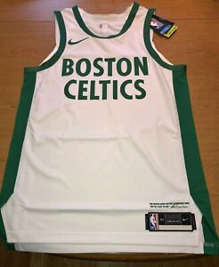 2020-21 Nike Boston Celtics City Edition Swingman Jersey Blank Size 58 XXXL 3XL