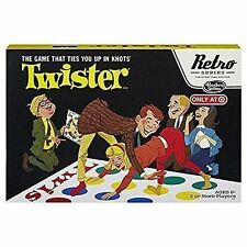 Retro Twister Board Game / Hasbro Retro Collection 1966 Edition