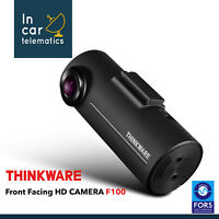 THINKWARE F100 HD FFC Accident Dash Camera With Cigar Lighter Power and GPS