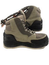 Korkers Double Haul FB3421 Wading Boots Omnitrax Cling On Felt & EXTRA Sole 9M