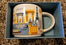 Disney Parks Starbucks You Are Here Epcot World Showcase Coffee Mug New with Box