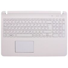 More details for for sony vaio svf152 svf152c29m svf152a29m palmrest uk keyboard a1987209a white