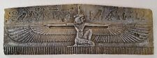 Egyptian Winged Isis Wall Plaque Home Decor Antique Reproduction