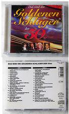 DIE GOLDENEN SCHLAGER DER 50ER - Maria Andergast (Mariandl), Assia,... DO-CD TOP