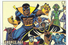 MARVEL BRONZE AGE TRADING CARDS BASE SET OF 81 COLLECTOR CARDS 2012